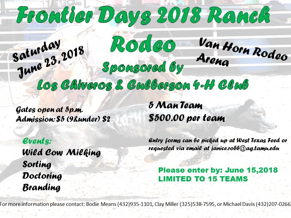 FRONTIER DAY RODEO